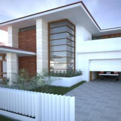 D Kaimakliotis Architects House Eave House Residence