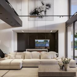 The Napa Experience Holiday House Living Room