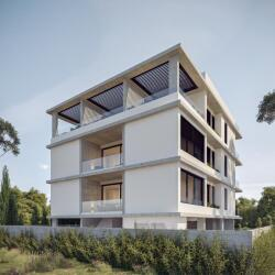 The Start Up Building Side View Makedonitisa Nicosia