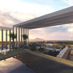 Architecture Design Practice Tamasou Flats Roof Garden Residental Project