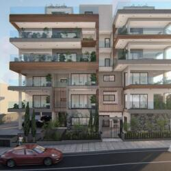 Architecrutal Design For A And X Residential Building In Limassol