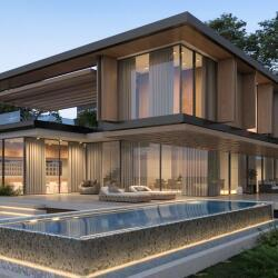 Residential Modern Architectural Design For A House In Paphos