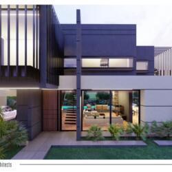 Potonides Papapolyviou Architects Germasogeia Residence Kalogiroi Area