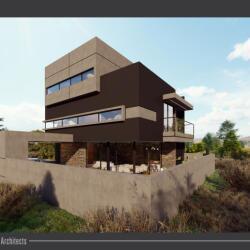 Potonides Papapolyviou Architects Mesa Geitonia Private Residence