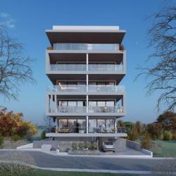 Eleftherias Apartment Contemporary Concrete Acharchitects