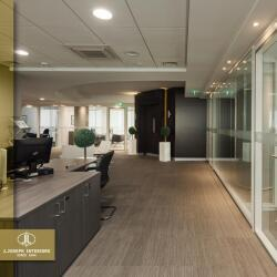 Office Interior Design For This Private Office In Limassol