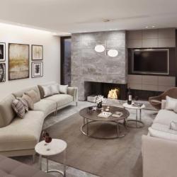 Private Residence In Nicosia Livingroom